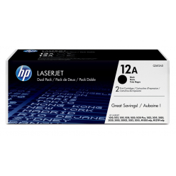 Toner HP black dual pack | 2x2000str | LaserJet1010/1012/1015/1020